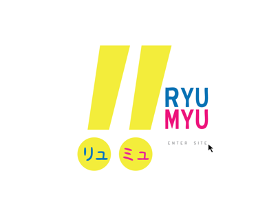 Ryu Myu - Web Development