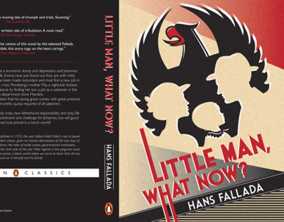 Little Man, What Now? Book Cover Design