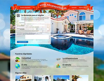 Landing Page for www.AlicanteVillas.es
