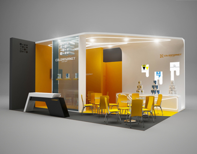 Colormarket Exhibition Stand On Behance