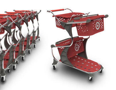 FlexCART - mass retail shopping cart