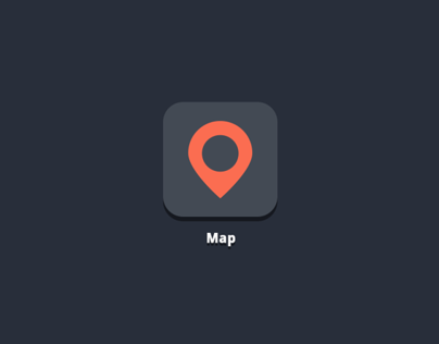 Map App Icon