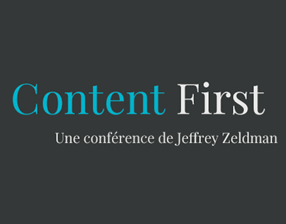 Content First - IOLCE