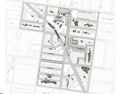 Ridge Avenue (3):Re-Connecting / Site Planning/Design