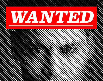 Modern Wanted Poster
