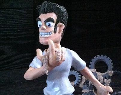 "Sander ""Sandman"" Super Sculpey"