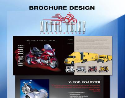 Motor Trike Brochure Design