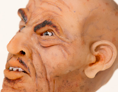 Human Head Miniature