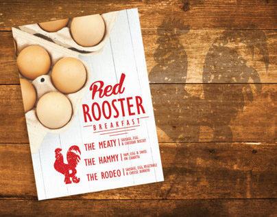 Red Rooster Breakfast Branding