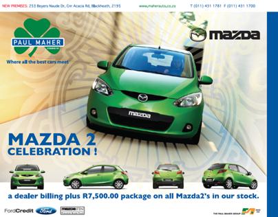 PMA Dealership Mazda Advert