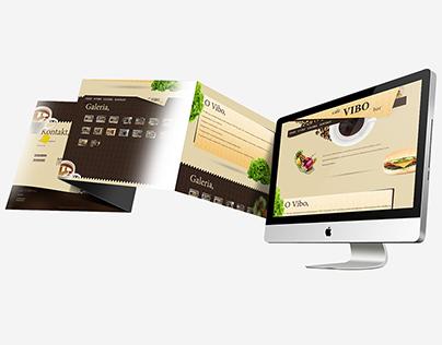 CafeBar VIBO Website
