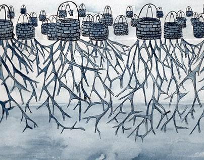 Illustrations for Le città Invisibili(I.Calvino)