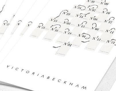 Victoria Beckham Christmas Card