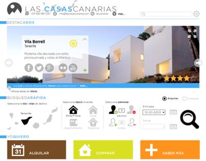 IA/UX/UI : Las Casas Canarias