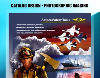Ampco Catalog Cover Design