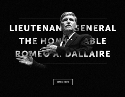 L Gen. Roméo Dallaire - Website