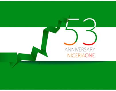 Happy 53 Anniversary Nigeria