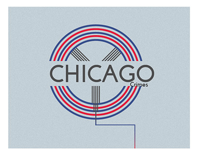 Chicago Typography Poster
