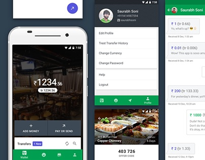Trestor Android App Redesign