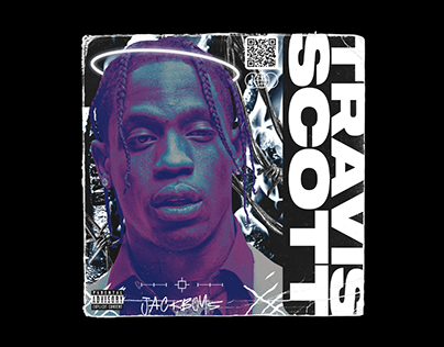 Album Cover Art Concept for Travis Scott | JackBoys