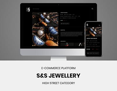 S&S jewellery - UI/UX