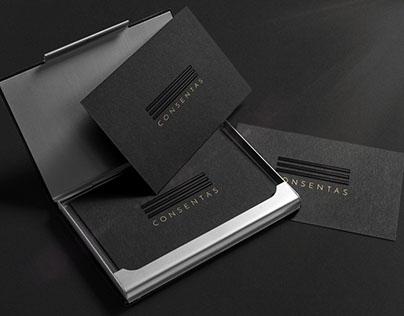 Visual Identity, Print Design for Consentas