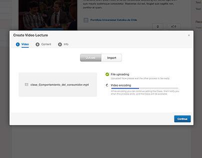 ClassroomTV video upload system