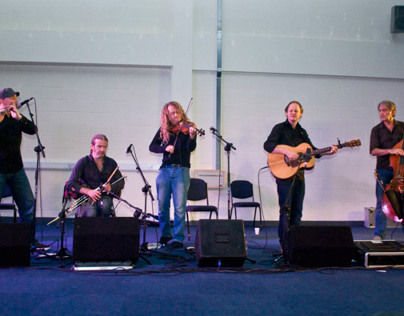 28-09-13 - Lúnasa concert at Leicester Grammar School