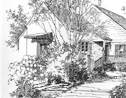 Pen & Ink: Architectural