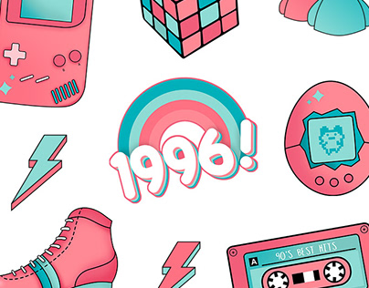 Child of 90's Collection - Illustration