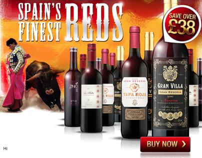 Virgin Wines - Email Marketing Samples 2011