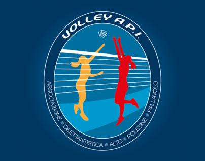 Logo design: Volley A.P.I.