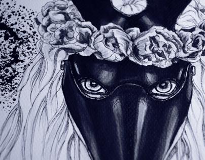 Self. Fox mask.
