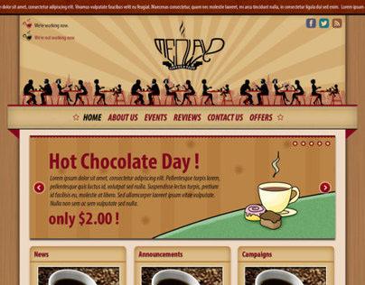 Coffee Restaurant Theme Concept #0