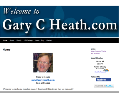 Gary C Heath Website