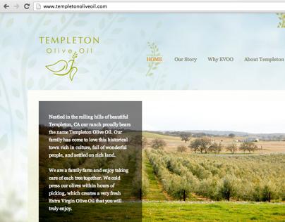Templeton Olive Oil Wordpress Template Theme