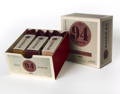 1894 Andrae Soap Collection