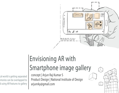 Concept Iterations for AR based Gallery