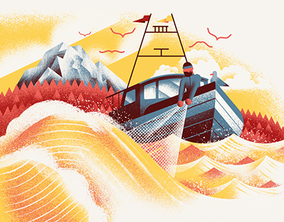 Pasta Casalinga Seattle - Website Illustrations