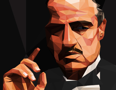 Print Design-The Godfather Poster