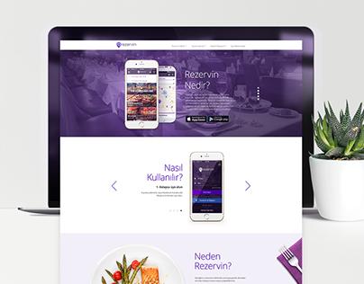 Rezervin.com Responsive Website