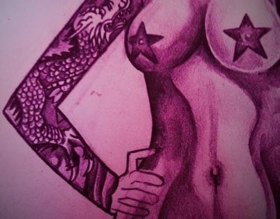 Superwoman Tattoo