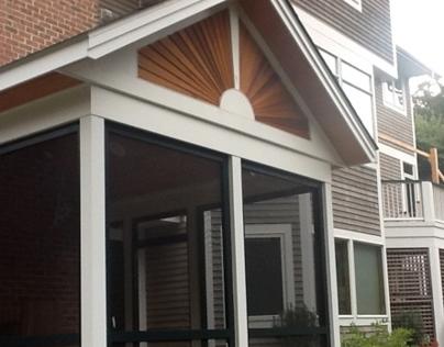 Magladery Screen Porch & Trellis