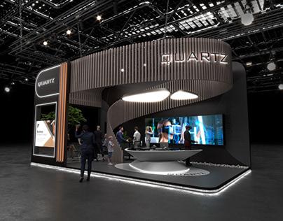 Exhibition stand of Quartz