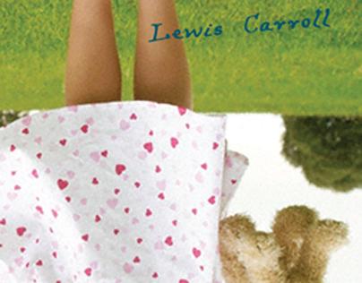 Lewis Carroll Book Cover Design