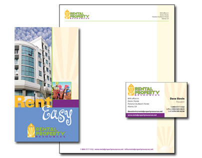 Rental Property Resources Brochure and Stationary