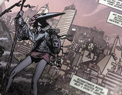 """Birdie"" comic. With Lauren Beukes for DC/Vertigo"
