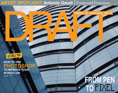 Draft Magazine Cover #1