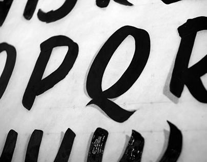 Signpainting Workshop at New Bohemia Signs