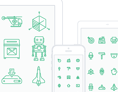 FREE - Responsive icons set